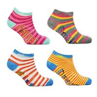 Womens Trainer Socks Pattern Striped Novelty Ladies Design Sport Gym Ankle Liner