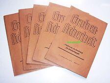 Gruben - Sicherheit Schriftenreihe Arbeitspädagogik Bergbau Hüttenwesen 1942/43