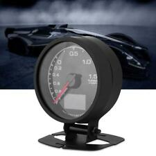 62mm LCD Digital 7Color Display Boost Turbo Gauge with Sensor Holder Auto Gauge