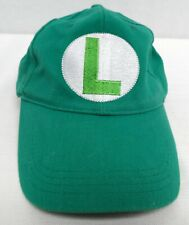 Luigi Mario Super Brothers Green Cotton Adult Baseball Golf Cap Hat Adjustable