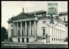 DDR MK 1956 BERLIN OPER OPERA PRIVATE !! MAXIMUMKARTE MAXIMUM CARD MC CM bd14
