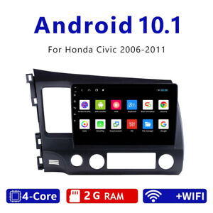 Android 10.1 Car Radio Stereo MP5 Player Wifi GPS Multimedia For Honda Civic