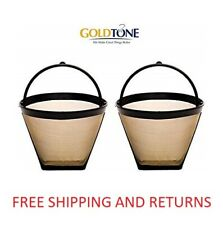 (2) 4 Cup #2 Cone Coffee Filter - fits Cuisinart, Krups, Ninja & other #2 Cones