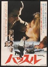 HUSTLE Japanese B2 movie poster CATHERINE DENEUVE BURT REYNOLDS 1975