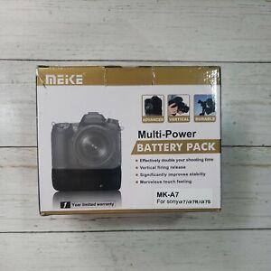 Meike MK-A7II Pro Battery Grip 2.4G Remote For Sony A7II A7MII A7RII A7SIICamera