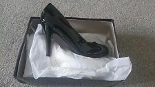 Womens / Ladies Odeon high heel black shoes / work / party / evening /size 7