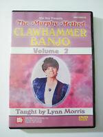 Clawhammer Banjo Volume 2: The Murphy Method DVD, By Mel Bay & Lynn Morris