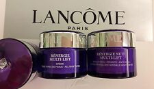 Lancome Renergie Multi-Lift Lifting Anti-Wrinkle Day 15m Nuit Night Cream 15ml