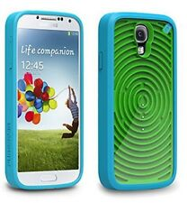 SAMSUNG GALAXY S4 PUREGEAR RETRO GAMER CASE - GROOVY (BLUE / GREEN) Protector