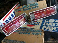 Datsun 70-73 510 Sedan USDM Tail Lights (2x, Left & Right) w/ Harnesses