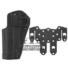 CQC Serpa Left Hand Waist Pistol Holster w/ MOLLE Platform for Colt 1911 M1911