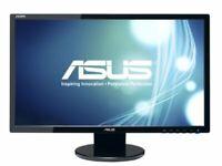"Asus Ve248h 24"" Led Lcd Monitor 2 Ms - 16:09 - Adjustable Display Angle - 1920 X"