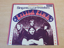 """EX !! Frijid Pink/Sing A Song For Freedom/1970 Deram 7"""" Single"""