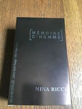 NINA RICCI Memoire d'Homme After Shave Lotion ml 100 Mémoire Aftershave 100ml