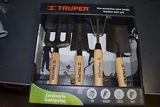 truper 4 piece gardening set