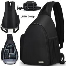 NEW! Camera Bag Shoulder Sling Bag Backpacks Waterproof Nylon Shockproof Scratch