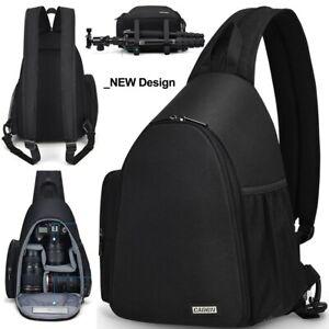 NEW! Camera Bag Shoulder Sling Bag Backpacks Waterproof Nylon Shockproof Scratch