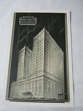 HOTEL DULUTH COFFE SHOP COCKTAIL LOUNGE MINNESOTA MINN  POSTCARD  T*