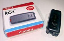 Canon RC-1 Remote Shutter Release, boxed with instructions