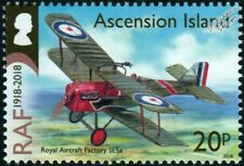 RAF Royal Aircraft Factory S.E.5A WWI Biplane Fighter Aircraft Stamp (2018)