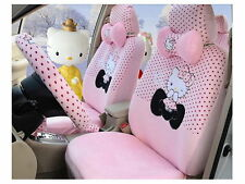 New Hello Kitty Car Seat Covers Accessories Set 18PCS TL-A3