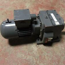 FLENDER 3-PHASE, 277/480V, 1.55/0.90A, 1/2HP, GEAR MOTOR 431-403-570 *PZF*