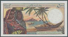 Comoros / Komoren [01] - 500 Francs 1976 aUNC - Pick 7a(1)