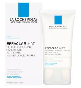 La Roche-Posay Effaclar MATT 40ml Anti Shine Sebo Controlling Moisturiser NEW