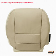 Fits 2007 08 2009 Acura MDX PASSENGER Bottom Replacement Leather Seat Cover Tan
