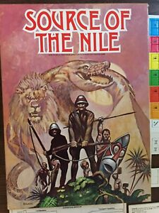 VINTAGE 1979 The Source of the Nile exploration board game AVALON HILL complete