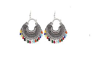 Unique Style Silver Oxidised Earrings for Women and Girls
