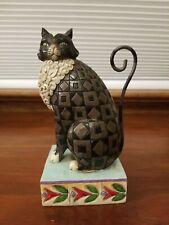 "Jim Shore ""Lucky"" Cat Figurine"