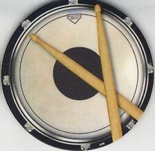 Boissons coaster (circulaire drum practice pad)