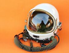 100% Flight Helmet High Altitude Astronaut Space Pilots Pressured  /Pilot Helmet
