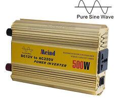 Meind 500W Pure Sine Wave Universal Socket DC 12V to AC 110V Power Inverter
