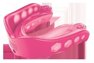 Shock Doctor Gel Max Convertible Mouthguard Strapped or Strapless