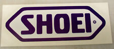 SHOEI HELMETS PRINTED DECAL STICKER