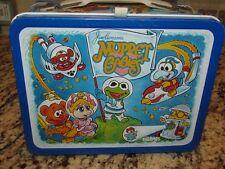 Vintage 1985 Muppet Babies King Seeley Metal Lunchbox