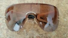"Dior ""Escrime"" RPUH6 115 Gold Shield Sunglasses Used Very Nice"