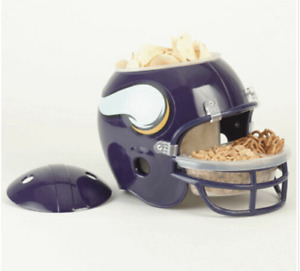 NFL Helmet Snack Bowl Minnesota Vikings New in box