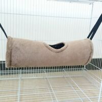 1x Tunnel Hammock Pet Ferret Rat Hamster Parrot Squirrel Hanging Bed House Nest