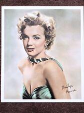 Marilyn Monroe Vintage Print 1990 Hollywood Actress Legend Beautiful Cleavage