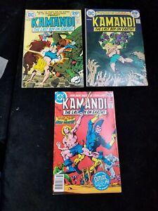 3 Bronze Age DC KAMANDI Comic Books 14 17 59 Jack Kirby
