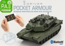 Kyosho 69050G Mini Bluetooth Abrams M1a2 Tank Us Army / Usmc Green Camo