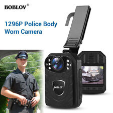 1296P Body Cameras Night Vision Full HD With Audio Supports up to 128G TF Cards