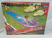 SwimWays Marvel Spiderman Inflatable Wet and Wild Water Slide New 5 - 12 years