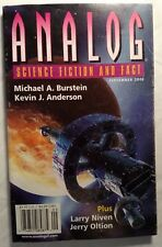 Analog Science Fiction and Fact Magazine September 2005 Larry Niven Burnstein