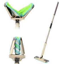 Mircofiber Twist Mop 360° Rotating Elegant + Efficient Mop Hand Free Easy Twist