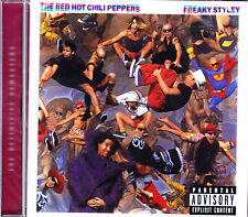 Red HOT CHILI PEPPERS FREAKY stley REMASTERED CD NUOVO OVP/SALED