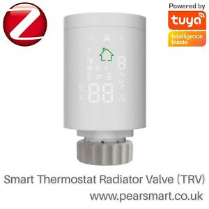 Smart Home Zigbee 3.0 New Radiator Actuator Smart Programmable Thermostat (TRV)